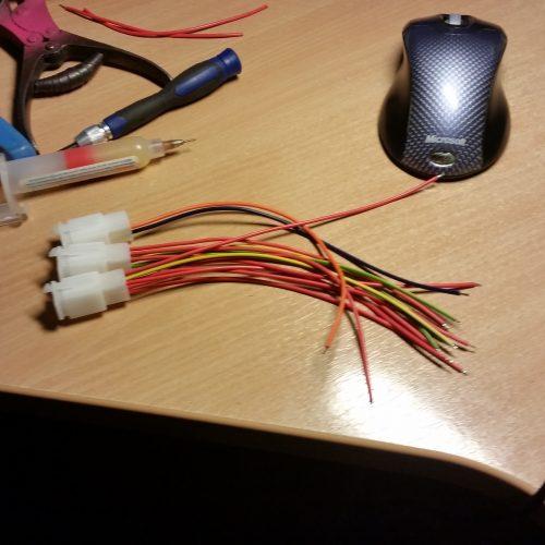 Příprava konektorů